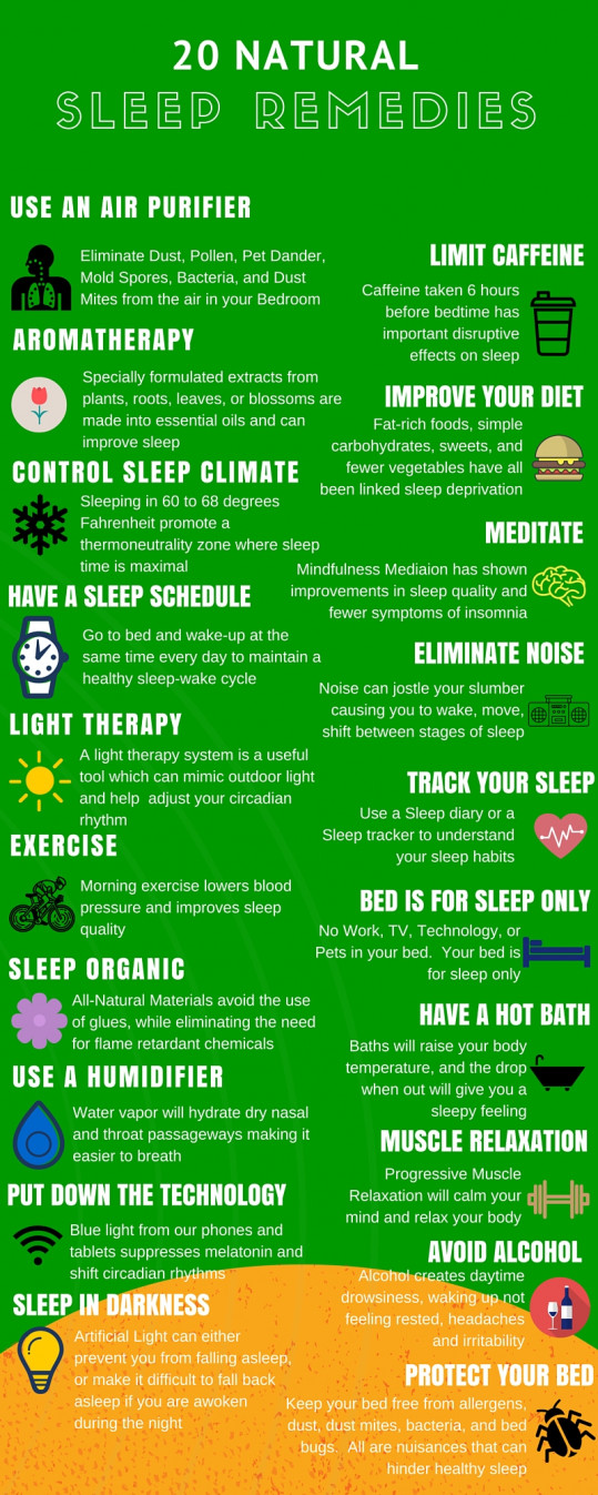 20 Natural Sleep Remedies