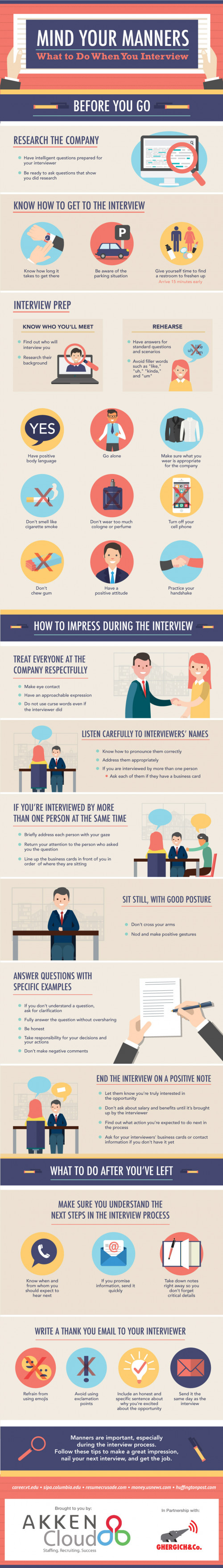 Mind Your Manners: What to Do When You Interview