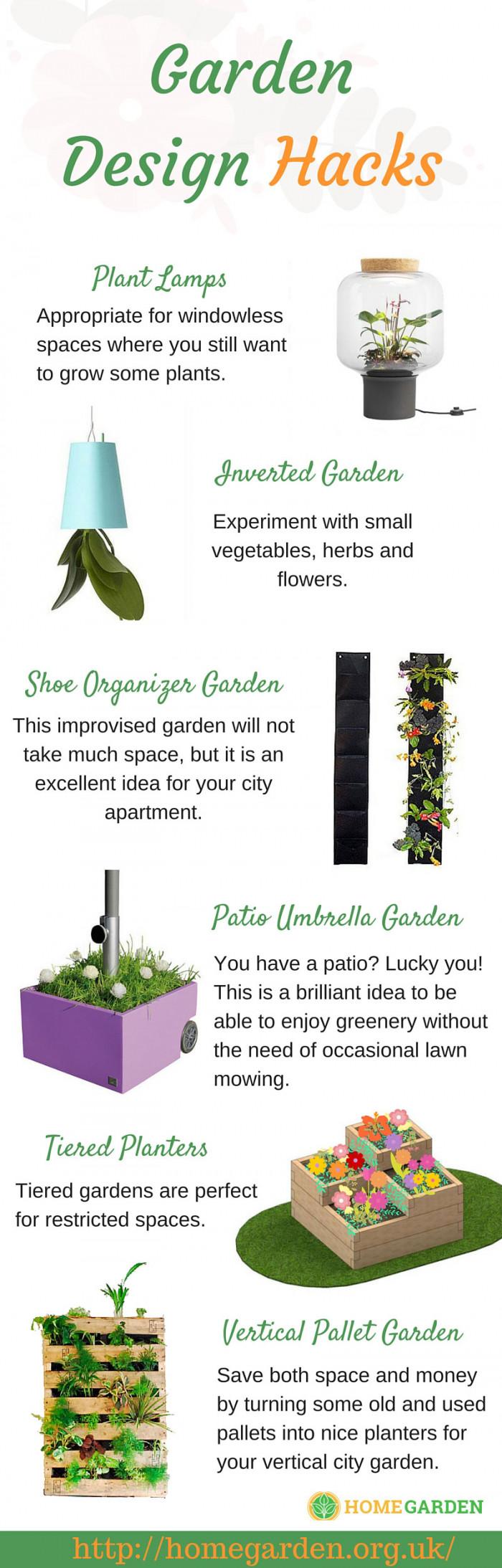 garden design hacks for small spaces ForGarden Design Hacks