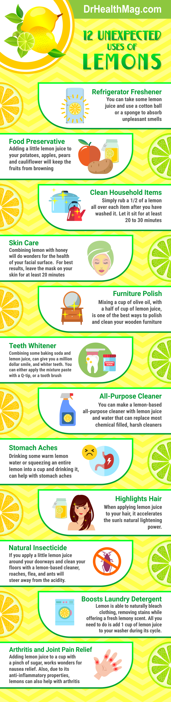 12 Surprising Uses of Lemons