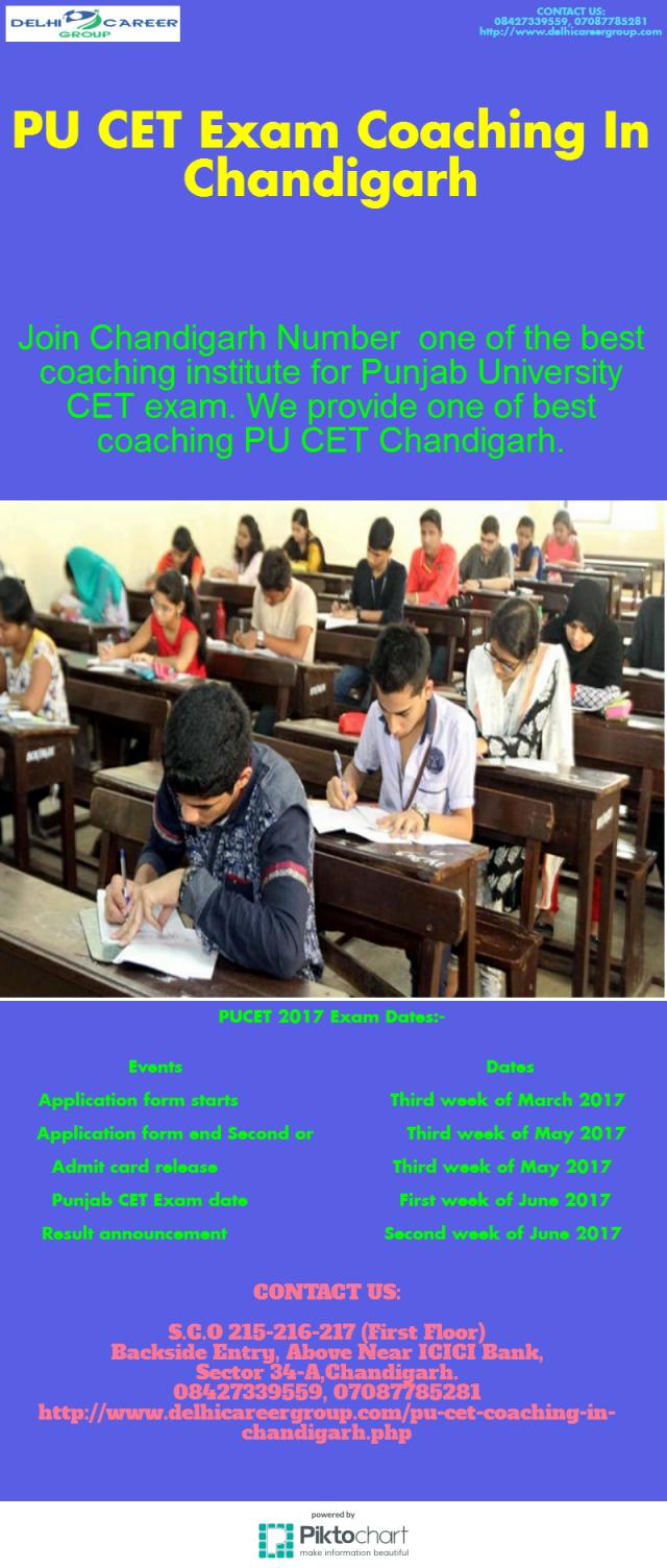 PU CET Exam Coaching In Chandigarh