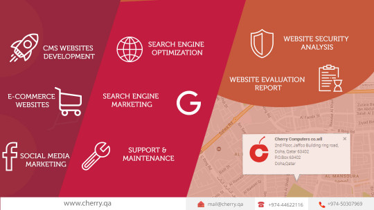 Cherry - Web Design Companies in Qatar