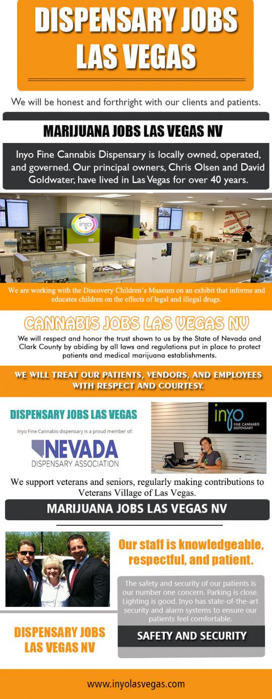 Dispensary Jobs Las Vegas