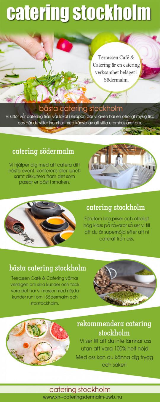 Bästa catering stockholm