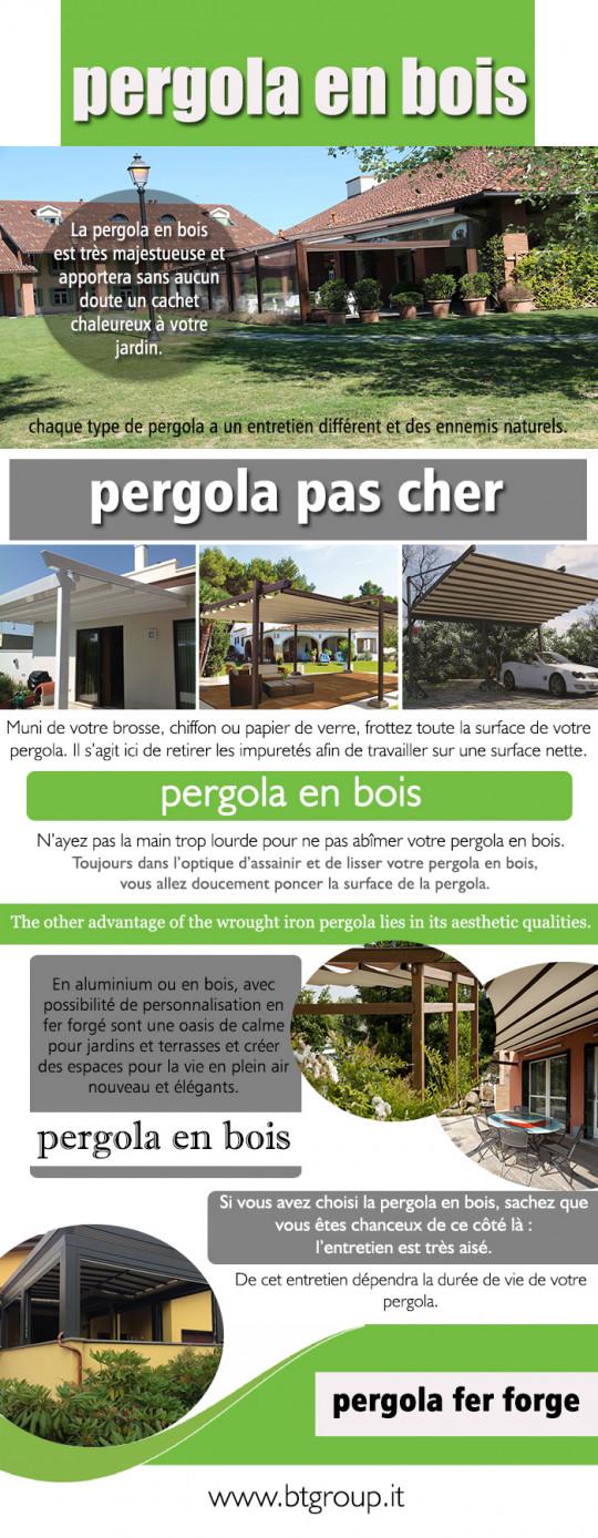 Pergola En Bois France