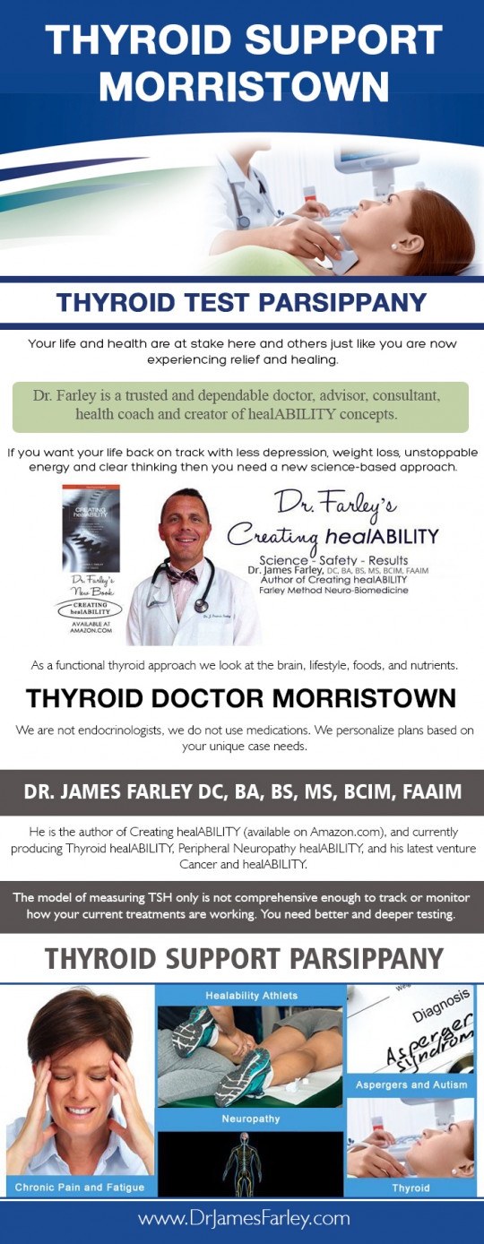 Thyroid Test Morristown