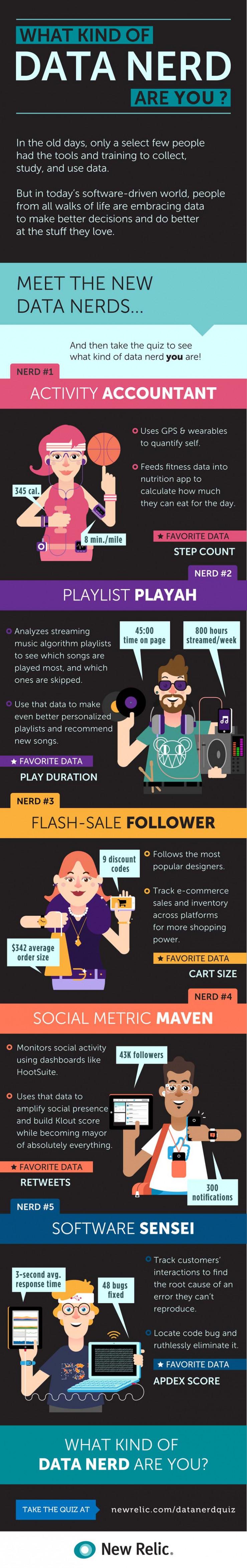 Data Nerd Infographic