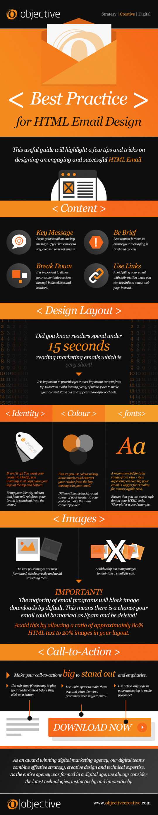Best Practice for HTML Email Design