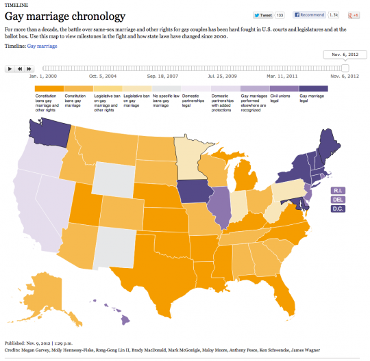 Gay Marriage Chronology