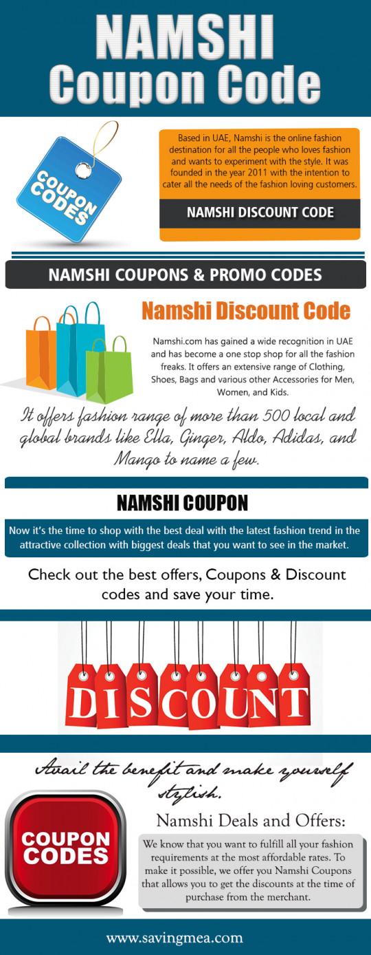 Namshi Coupon Code