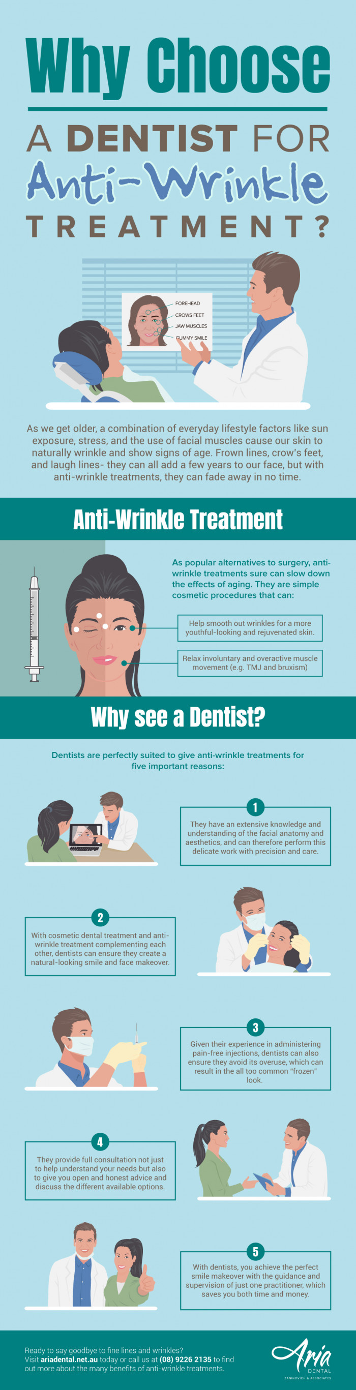 Why Choose a Dentist for Anti-Wrinkle Treatment