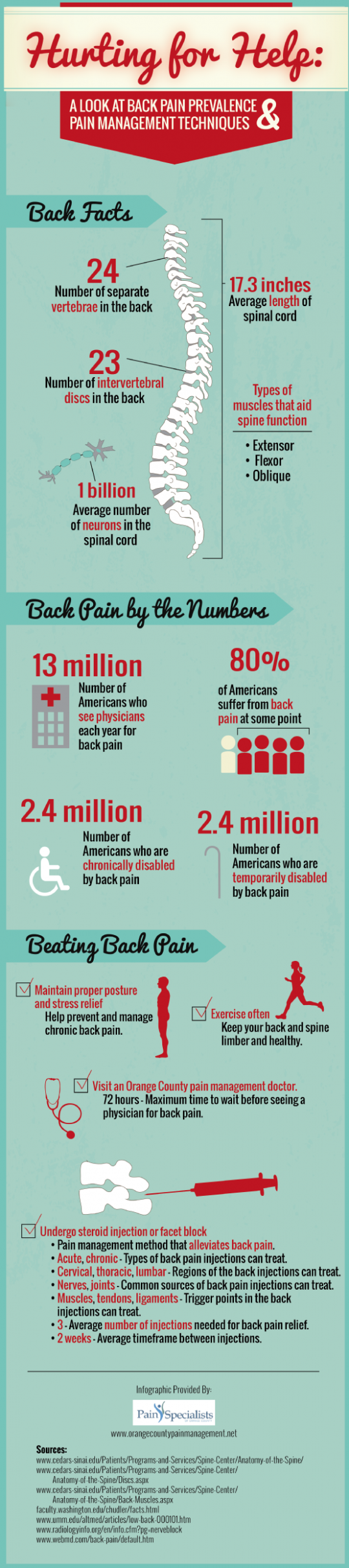 Hurting for Help: A Look at Back Pain Prevalence and Pain Management Techniques