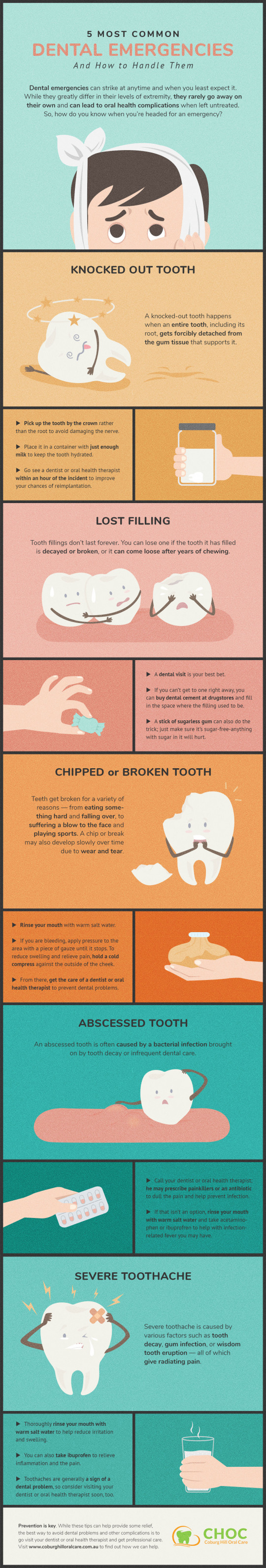 Quick Tips for Handling Common Dental Emergencies