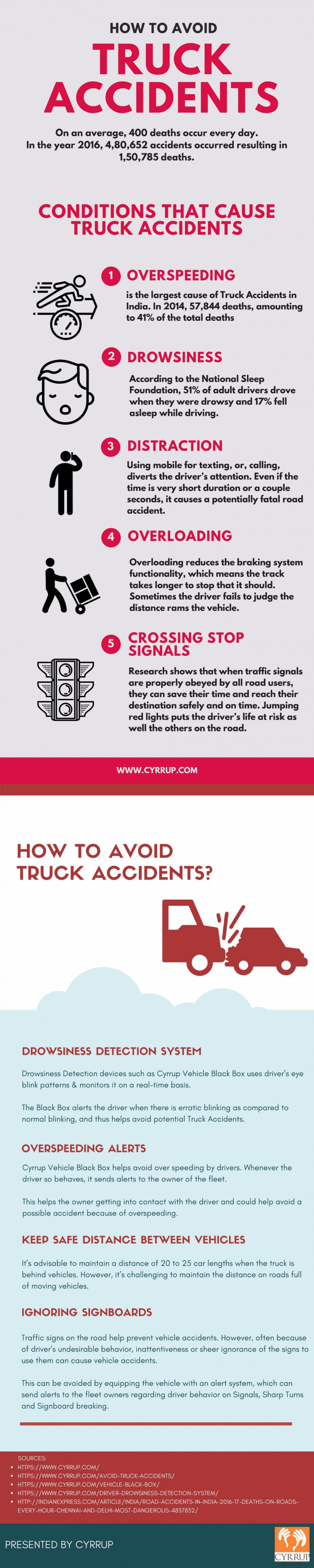 How to Avoid Truck Accidents?