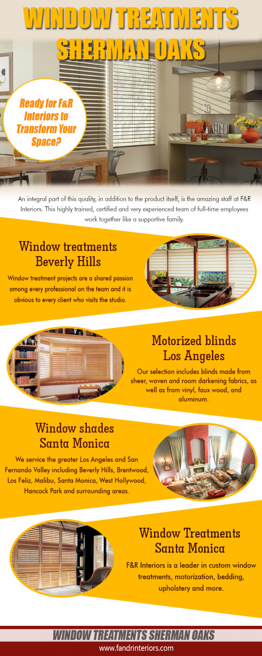Window treatments Sherman Oak