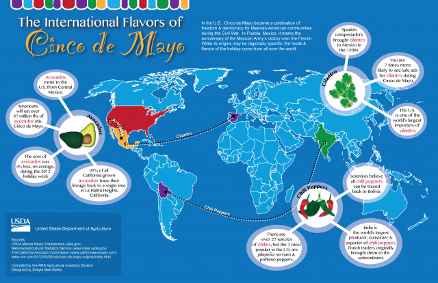 The International Flavors of Cinco de Mayo