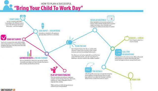 How to Plan a Successful Bring Your Child to Work Day
