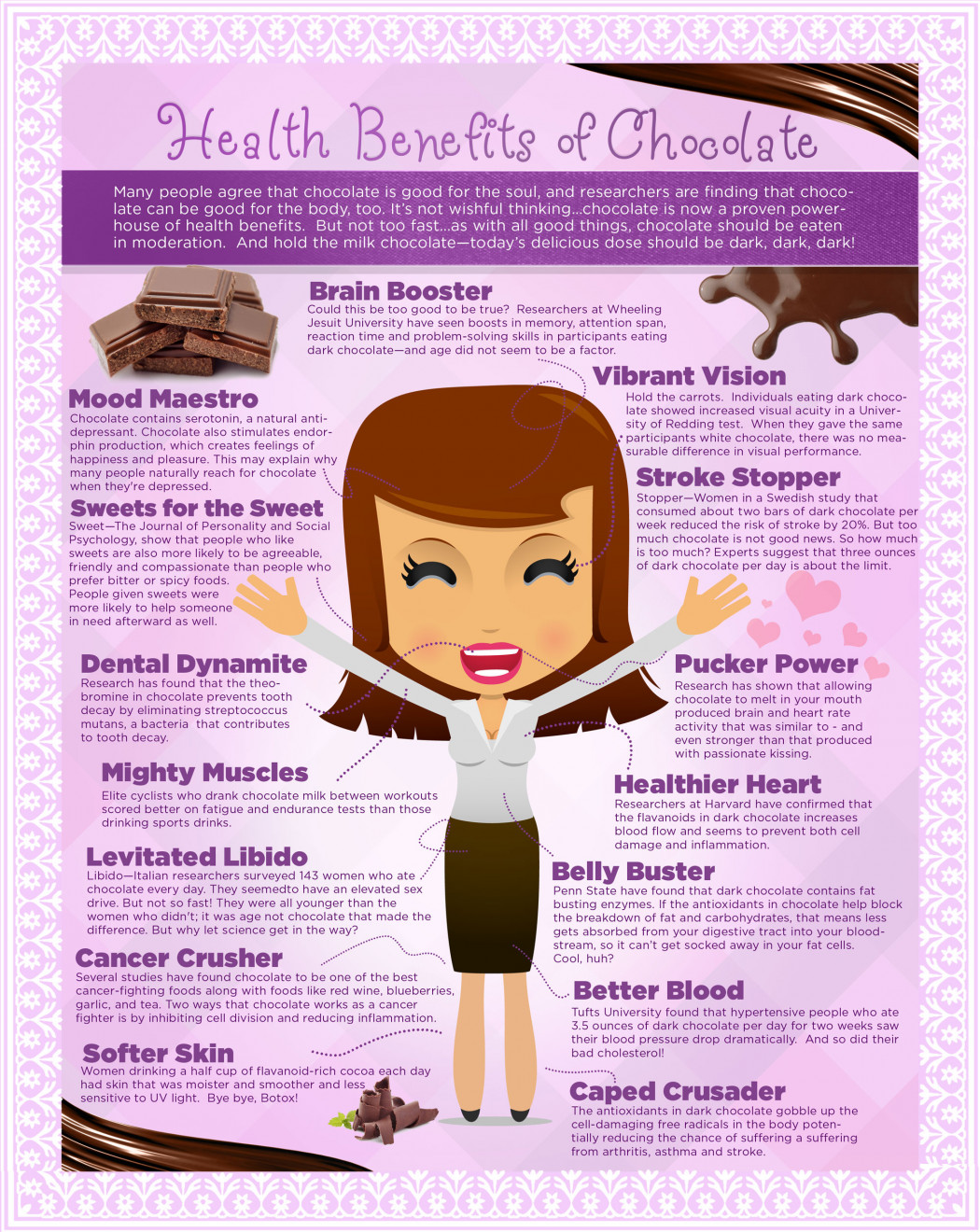 Image result for dark chocolate health benefits