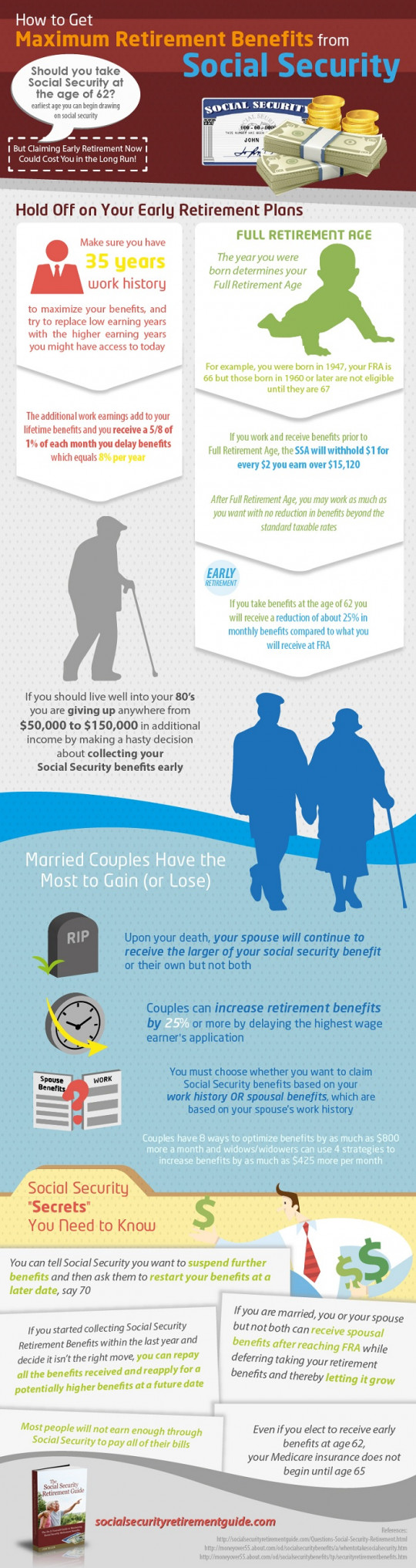 How to Get Maximum Retirement Benefits from Social Security