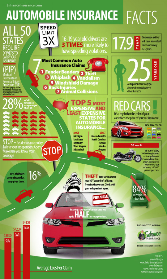 Auto Insurance Facts and Interesting Statistics