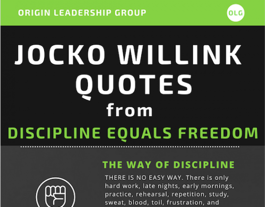 Jocko Willink Quotes from Discipline Equals Freedom