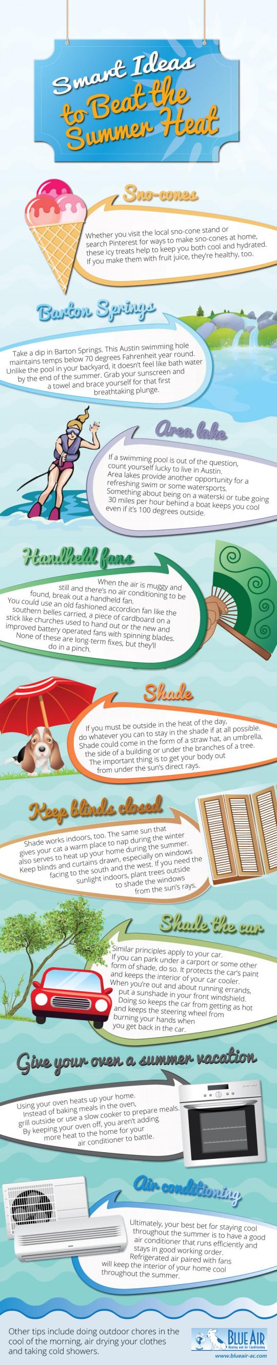 Smart Ideas to Beat the Summer Heat