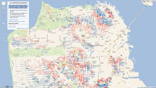 Hill Mapper San Francisco