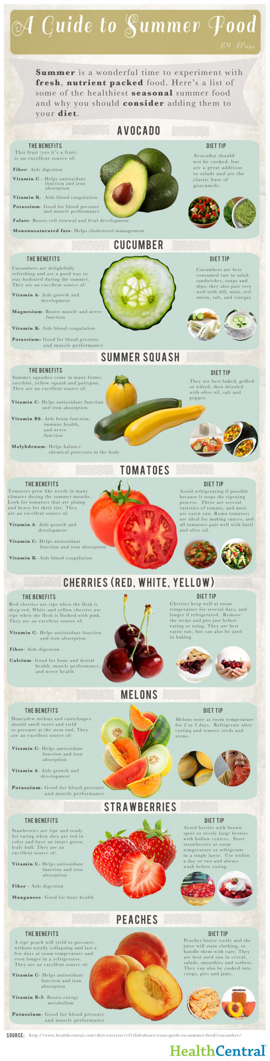 A Guide to Summer Food