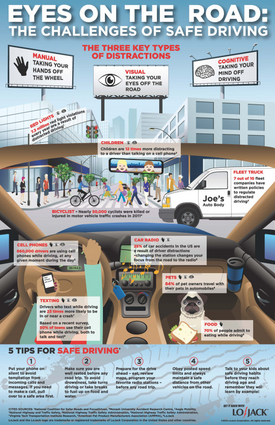 Eyes on the Road: The Challenges of Safe Driving