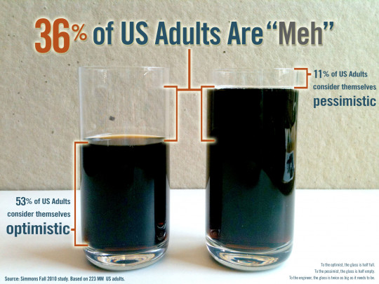 "36% of US Adults are ""Meh"""