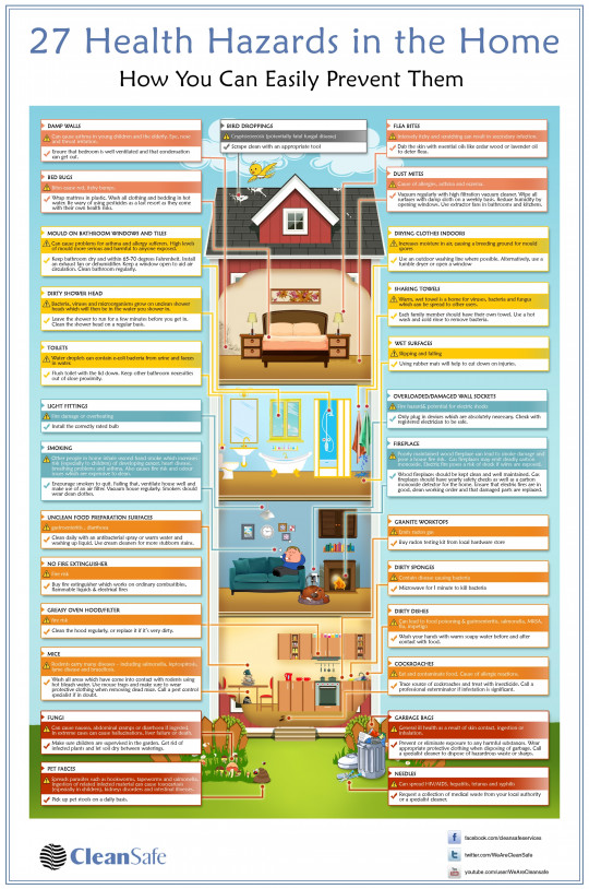 27 Health Hazards in the Home