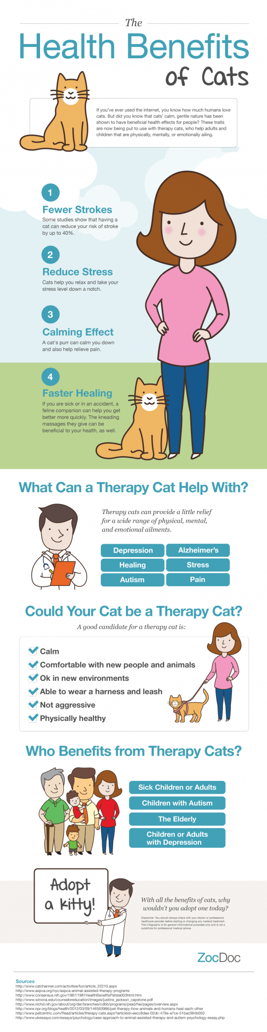 The Cats effect on human health