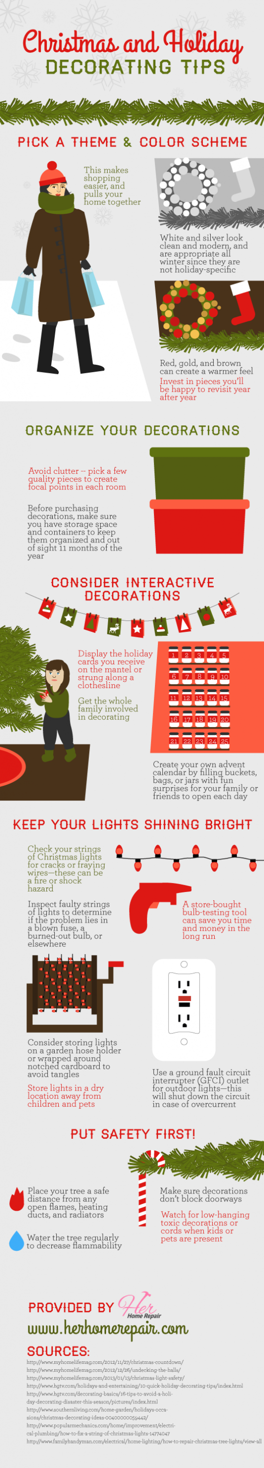 Christmas and Holiday Decorating Tips